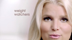 jessicasimpsonwide 250 Jessica Simpson for Weight Watchers Commercial