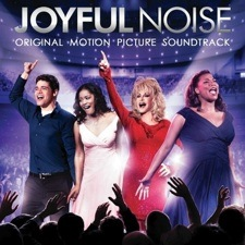 Working on the new movie Joyful Noise