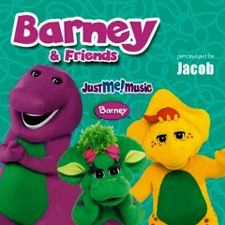 Barney the Dinosaur, personalized