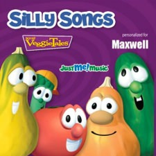 Silly Songs with VeggieTales, personalized